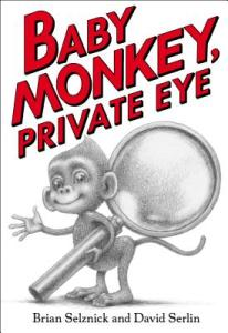 baby monkey private eye book cover
